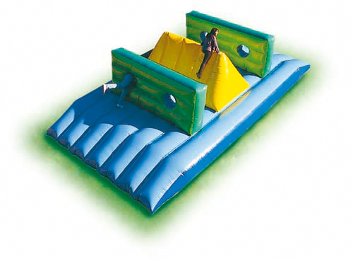 Wall & Hill Obstacle
